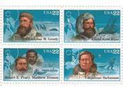 Arctic Explorers Set of 4 x 22 Cent US Postage Stamps NEW Scot 2220-23