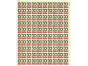 Christmas 1962 Sheet of 100 x 4 Cent US Postage Stamps NEW Scot 1205
