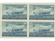 Swedish Pioneer Centennial Set of 4 x 3 Cent US Postage Stamps NEW Scot 958