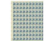 George Washington Sheet of 100 x 5 Cent US Postage Stamps NEW Scot 1283