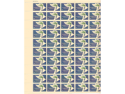 Alliance for Progress Sheet of 50 x 5 Cent US Postage Stamps NEW Scot 1234