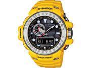 Yellow Casio G-Shock Gulf Master Triple Sensor Watch GWN1000-9A