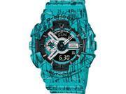 Blue Casio G-Shock Analog Digital XL Watch GA110SL-3A