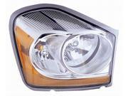 DODGE DURANGO 04 05 HEAD LIGHT LAMP 55077720 AB AC AD with BULB PASSENGER RH