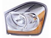 DODGE DURANGO 04 05 HEAD LIGHT LAMP 55077721 AB AC AD with BULB DRIVER LH