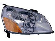 Honda Pilot 03 04 05 Head Light Lamp 33101-S9V-A01 , 33101S9Va01 Ho2519105 Rh