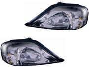 Mercury Sable 00 01 02 03 04 05 Head Light Lamp Pair 1F4Z 13008 Bb 1F4Z 13008 Ba