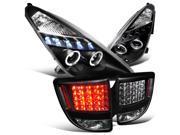 Toyota Celica Black Halo Led Projector Headlights , Led Smoked Tail Lights 9SIA1FR0JE6615