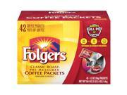 Folgers Classic Roast Coffee Packets - 42 ct.