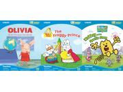 Vtech Bugsby Reading System 3 Book Bundle: Max & Ruby, Olivia, Wow Wow Wubbzy