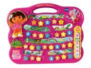 The Dora the Explorer™ Alphabet Journey™ by VTech® takes your young adventurer on a journey of discovery with six interactive games, cheerful melodies and sound effects! Your child will explore letters, numbers, basic math skills, colors, shapes, logic and more