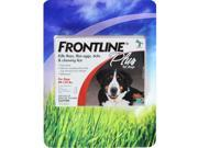 Frontline Plus Flea Tick and Lice Control for Dogs 89-132 lbs. (3 Month Supply)