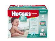 Huggies One & Done Refreshing Baby Wipes , 864 ct.