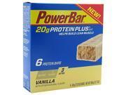 Powerbar Protein Plus Vanilla - 6 bars - 60 g (2.12 oz) each