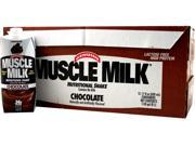 Cytosport Muscle Milk RTD Nutritional Shake Chocolate - 12/17oz