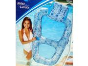 Aqua Ultimate Dream Recliner Pool Lounge, Blue