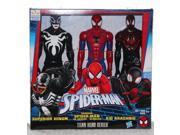 Marvel Titan Hero Series 3 set: Kid Arachnid, Superior Venom, Spider-man 9SIA1FS5XK5096
