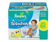 Pampers Splashers Swim Diapers - Medium (20-30 lb) - 36 ct
