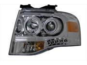 Anzo 111114 Headlight Assembly; Projector