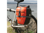 Seattle Sports Company Rain Rider Pannier: Orange&#59; Single