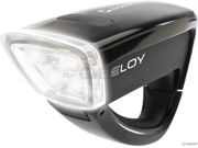 Sigma Eloy White LED Headlight: Black