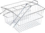 Wald 535 Rear Twin Carrier Basket: LG&#59; Plated