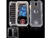 Motorola Rival A455 Transparent Clear Snap-On Protective Case