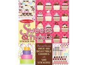 Melissa and Doug 4239 Sweets & Treats Sticker Pad