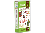 Type Candy Font Cricut Cartridge