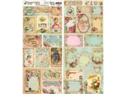 """Heartwarming Vintage Creative Scraps Dble-Sided 9.5""""X8"""" Fold-Love Mail"""