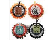 Jolee's Halloween Stickers-Metallic Honeycombs