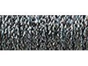 Kreinik Fine Metallic Braid #8 10 Meters (11 Yards)-Hi Lustre Steel Grey