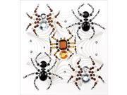 Jolee's Halloween Stickers-Beaded Spiders