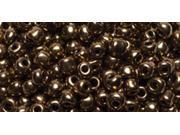 Jewelry Basics Seed Beads-Round Metallic Bronze