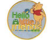 Disney Winnie The Pooh Hello Little Friends Iron-On Applique-