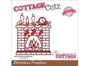 CottageCutz Elites Die-Christmas Fireplace