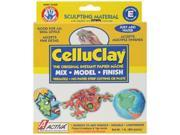 CelluClay Instant Paper Mache 1 Pound-Gray
