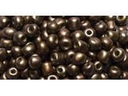Jewelry Basics Seed Beads-Round Matte Brown