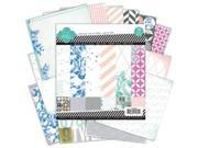 "Mixed Company Paper Pad 6""X6"" 36/Sheets-18 Single-Sided Designs/2 Each"