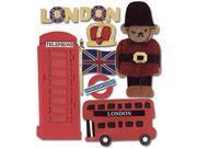 Jolee's Boutique Dimensional Destination Sticker-London