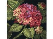 """Hydrangea Bloom Needlepoint Kit-14""""X14"""" Stitched In Wool"""