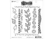 Dyan Reaveley's Dylusions Cling Stamp Collection-Around The Edge