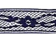 """Flexi-Lace Hem Tape 3/4"""" 3 Yards-Navy"""