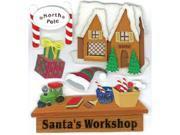 Jolee's Boutique Dimensional Stickers-Santa's Workshop