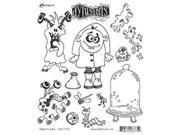 Dyan Reaveley's Dylusions Cling Stamp Collection-Monster Mash