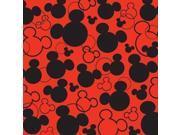 "Disney Paper 12""X12""-Mickey Heads"