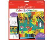 Color By Number Kit-Forest Friends