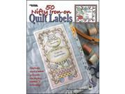 Leisure Arts-50 Nifty Iron-On Quilt Labels