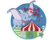 Disney Dumbo Flying Circus Iron-On Applique-