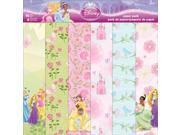 "Disney Paper Pack 12""X12"" 12 Sheets-Princess"
